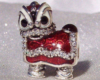Chinese New year Dancing Lion 2017 PANDORA Limited Edition FREE SHIPPING