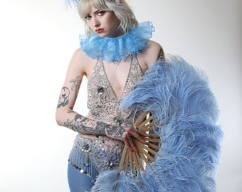 Burlesque Feather Fans - As seen on ITV