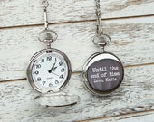 Pocket Watch, Mens Personalized, Husband gift, Personalized Watch Anniversary gifts for Husband Boyfriend gift Mens gift Custom Pocket Watch