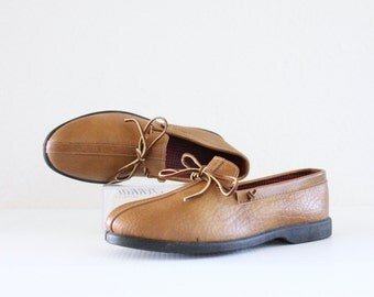 c1970's Caramel Loafers