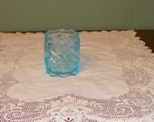 Antique Elegant TOOTHPICK Holder Northwood Glass Works S Repeat Pattern art glass EAPG