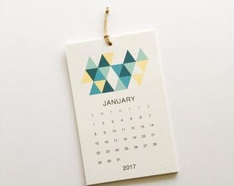2017 Calendar | Wall | 12 Months