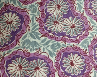 Feedsack Fabric, Quilting Cotton, 1940's Fabric, Vintage fabric, NOT Reproduction, UK Seller