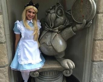 Pre-Order Alice in Wonderland Black Bow rose Goddess Flower Crown Headband