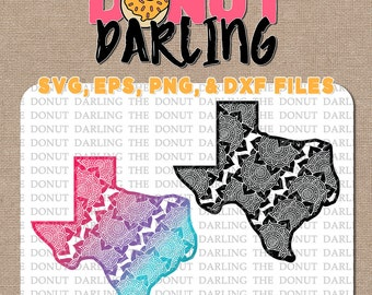 Instant Download: Mandala Texas svg / dxf / eps / png - Cutting File, Vinyl Cutting - Mandala State, State of Texas, Texas SVG, Texas DXF