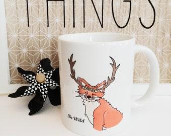 Mug little wild fox by Caravan Tepee