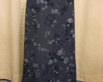 Vintage Worthington Floral Maxi Skirt
