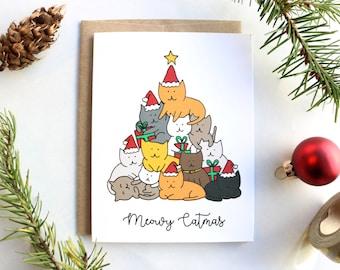 Meowy Catmas Christmas Card