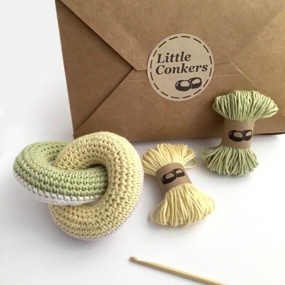 Knitting Kit For Beginners Uk : Crochet kit diy beginner gift