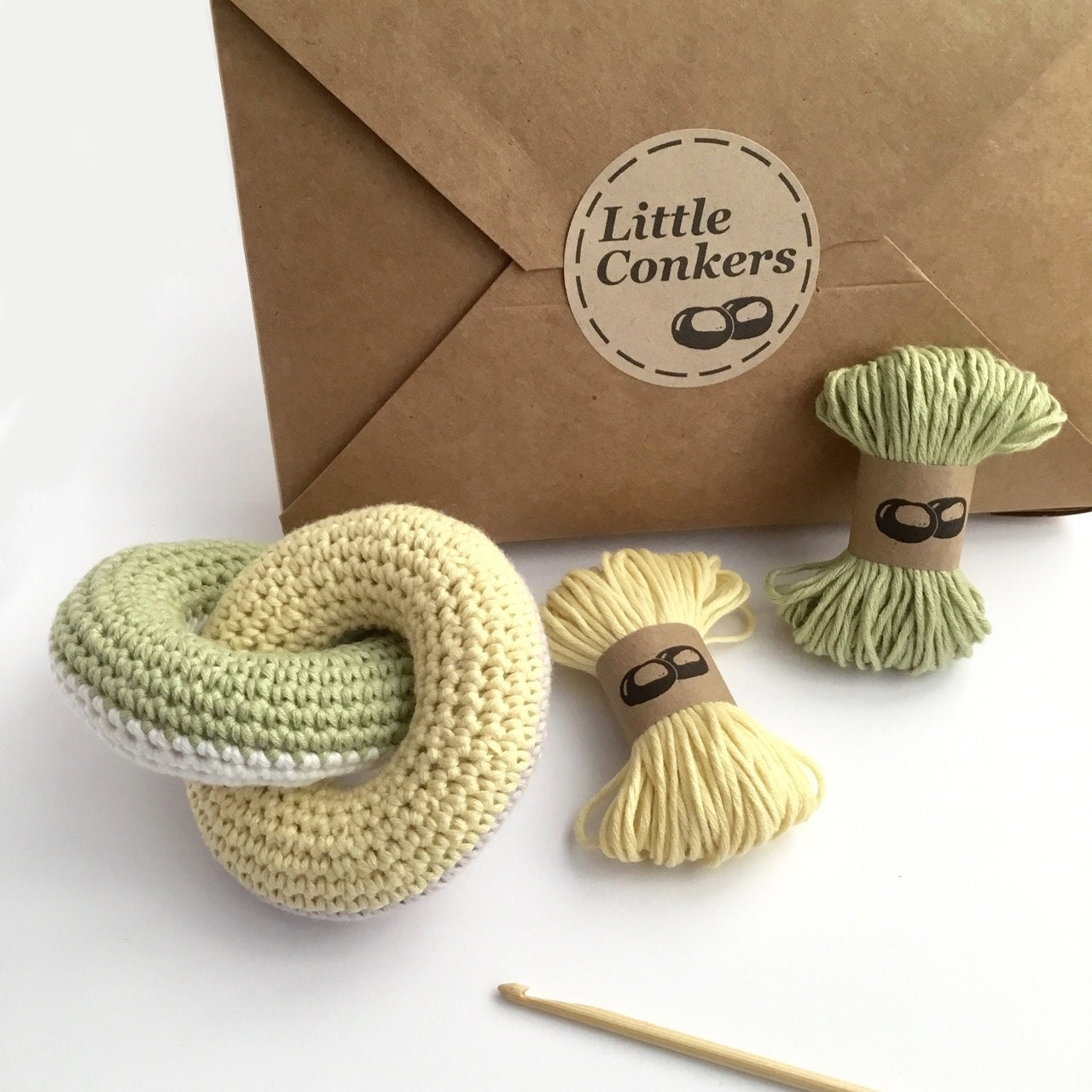 Knitting Kits For Beginners Uk : Crochet kit diy beginner gift