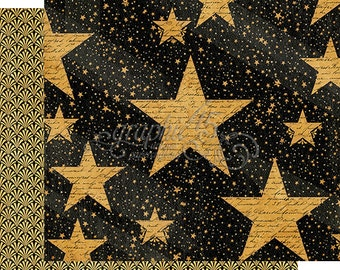 """Sale-Graphic 45 """"Vintage Hollywood-Star Studded"""""""