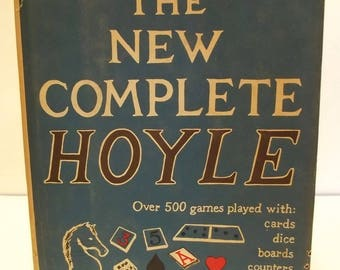 Vintage 1956 The New Complete Hoyle Game Book