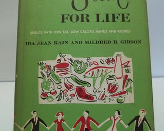 Vintage 1958 Stay Slim for Life Diet Book