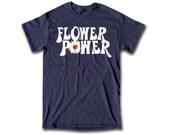 Flower Power T Shirt - Graphic Tees For Men, Women & Children