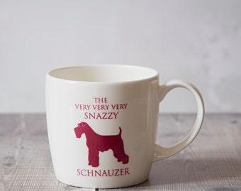 Schnauzer Mug - Schnauzer Gift - Schnauzer Home Decor - Hostess Gift - Housewarming Gift - Birthday Gift - Closing Gift - Coffee Mug