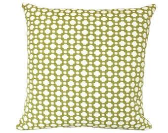 Grass Green Betwixt Schumacher Pillow Cover