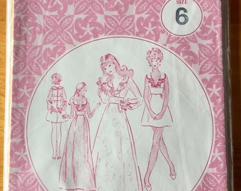 Vintage Patterns Pacifica 3051 size 6