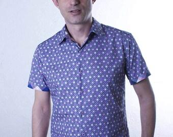 Floral short sleeve shirt - Graphic - BAÏSAP