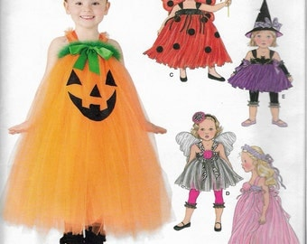 """2012 Simplicity 1768 Toddlers' and Child's Dress, Leggings & Hair Accessories Sewing Pattern size 4,5,6,7,8 Chest 23"""",24"""",25"""",26"""",27"""" UNCUT"""