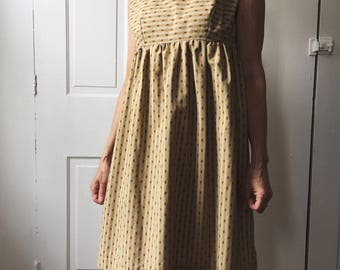 CLEARANCE: Empire Waist Sleeveless Dress Size Small