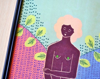 Ebena • 11x14 Print