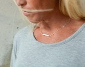 Asymmetrical Necklace wit...