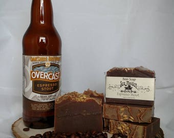 Hand Crafted Beer Soap ESPRESSO STOUT