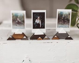Mountain Wooden Photo Holders - Wanderlust + Adventure Gift