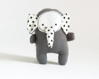 Gray elephant stuffed animal, Cute stuffed elephant, Cool plush elephant, stuffed toy, cute plushies, plush stuffed animals, elephant stuffy