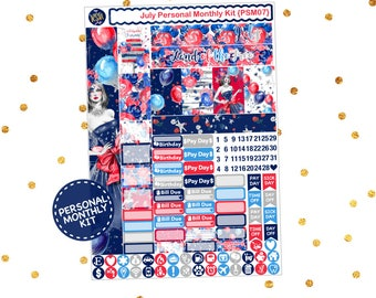 July // SMC Personal Monthly Kit  {PSM07}