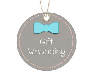 Gift for Baby, Gift Wrapping add on
