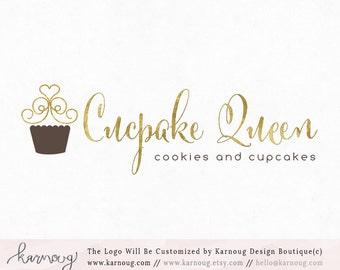 Cupcake Logo Bakery Logo Baking Logo Premade Logo Watermark Logo Business Logo Branding Logo Custom Logo Logos and Watermarks