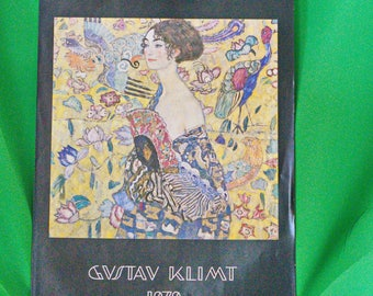 large 1978 Gustav Klimt Art Calendar, 13 Large Art Prints, Printed In Austria