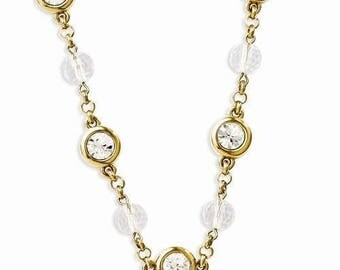 Jackie Kennedy GP Necklace - 24K Crystal Orbs with Box and Certificate