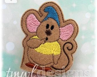 Cinderella Mouse B Finger Puppet Toy Digital Design File