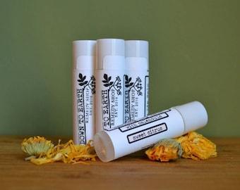Healing Calendula Lip Balm - Sweet Citrus
