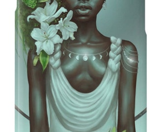 Virgo iPhone Case African American Goddess Black Girl Magic