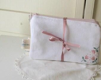 Monogrammed Closet Safe, Padded Hanger Cover With Hidden Pocket, Clothing  Protector, Garment Shoulder