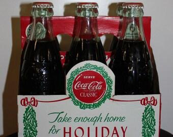 1988 Holiday Collectible Coke Bottles/ Coke bottle/sports /Coca Cola/ Coke/ Christmas