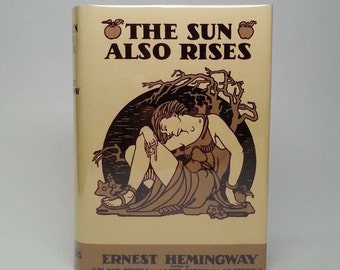 First Edition The Sun Also Rises by Ernest Hemingway New York Scribner's 1928 Hardcover Book