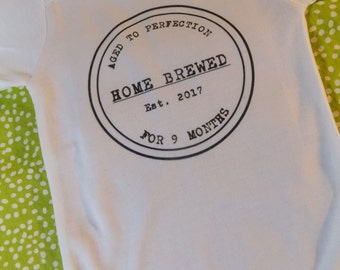 Aged To Perfection Unisex Baby Onesie - Long Sleeve or Short Sleeve 0-3 Months