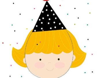 Birthday Card- Print at home-