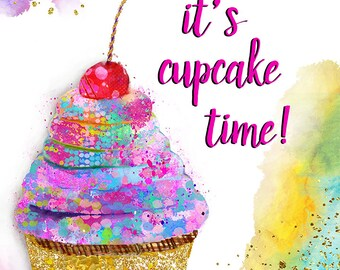 It's Cupcake Time!