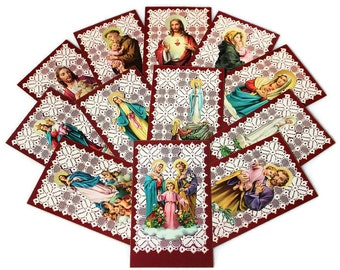 Add a Handwritten Note, Our Lady of Fatima, Madonna of the Streets, The Holy Family, The Good Shepherd, Personalized Message, Thank You Note