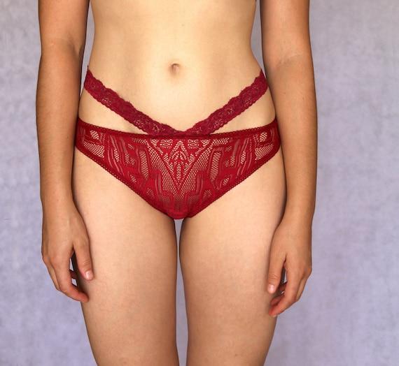 Red Sheer Panties 53