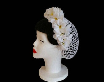 Glamoures Head Piece with Hair Snood and Head Band