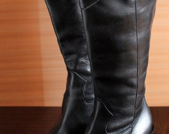 cowgirl SPAZIOMODA Bologna pointy toe designer vintage boots Italian cowboy boots style pointy toes