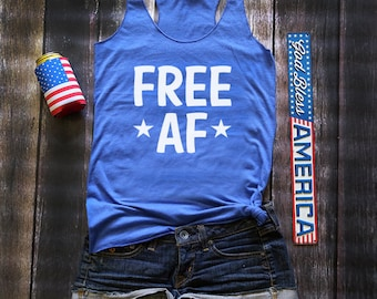 fourth of july tank / fourth of july / american flag clothing / 4th of july shirt / star spangled hammered / country tank top
