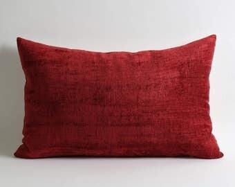 ikat velvet pillow, pillow, velvet, ikat pillow cover, velvet pillow, ikat, throw pillow, velvet ikat pillow, red velvet pillow