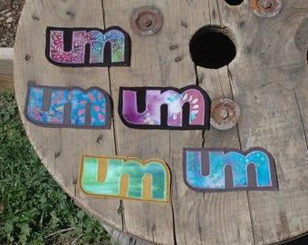 Umphrey's McGee. UM. Umphs. Batik Fabrics. Handmade Patches.